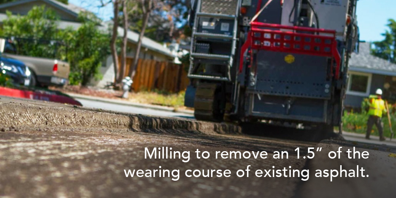Tarc Construction - Asphalt Milling